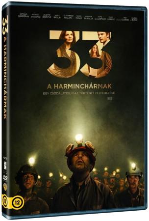 Harminchármak, A (2015 - The 33) (1DVD) (Antonio Banderas - Juliette Binoche)( használt, karcos )
