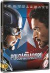 Amerika Kapitány 3. - Polgárháború (1DVD) (Marvel)