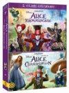 Alice Csodaországban / Alice Tükörországban 2 Filmes gyűjtemény (2 DVDBox) (Disney) (Tim Burton)  ( Johnny Depp, Anne Hathaway) (2010)