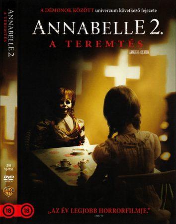 Annabelle 2. - A teremtés (1DVD) (Annabelle: Creation)