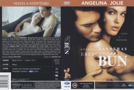 Eredendő bűn (1DVD) (Antonio Banderas - Angelina Jolie)