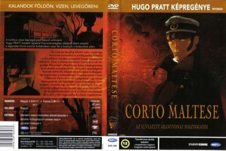 Corto Maltese - Az elveszett aranyvonat fosztogatói (1DVD)