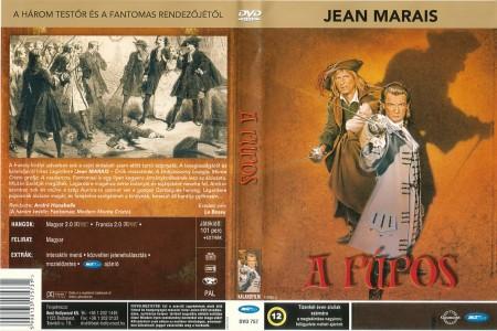 Púpos, A (1959 - Le Bossu) (1DVD) (Jean Marais)
