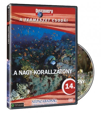 Discovery  A természet csodái 14. - A nagy-korallzátony (1DVD)