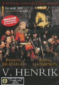 V. Henrik (1989) (1DVD) (Kenneth Branagh - William Shakespeare)