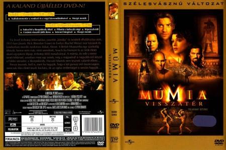 Múmia 2., A - A múmia visszatér (2001) (1DVD) (szinkron) (Warner Home Video kiadás)
