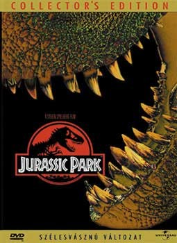Jurassic Park 1. (1DVD) (Michael Crichton) (Warner Home Video kiadás)