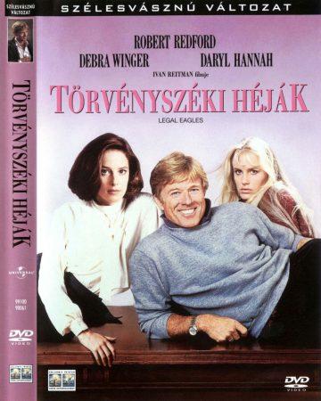 Törvényszéki héják (1DVD) (Robert Redford) (Warner Home Video kiadás) (felirat)