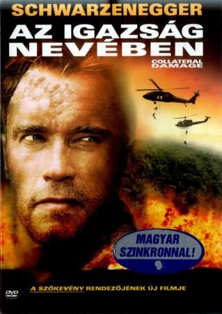 Igazság nevében, Az (1DVD) (Arnold Schwarzenegger) (Warner Home Video kiadás) ( Pattintó tokos)