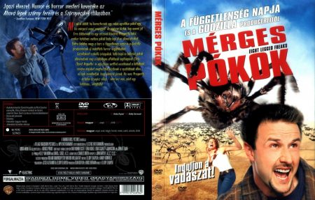 Mérges pókok (1DVD) (Warner, pattintótokos)