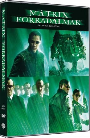 Mátrix 3. - Forradalmak (2DVD) (extra változat)