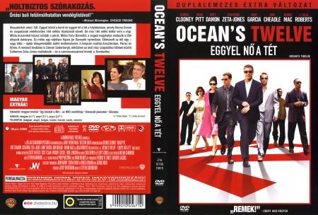 Oceans Twelve - Eggyel nő a tét (2DVD) (extra változat)