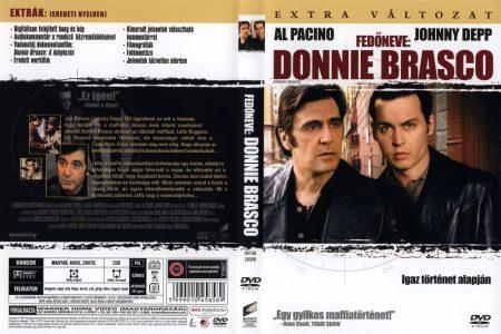 Fedőneve: Donnie Brasco (1DVD) (Warner Home Video kiadás)