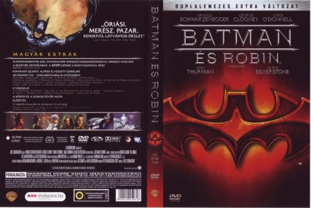 Batman 4. - Batman és Robin (2DVD) (extra változat) (DC Comics)
