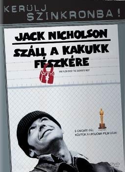 Száll a kakukk fészkére (1DVD) (Kerülj szinkronba! kiadás) (Oscar-díj)