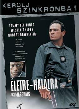 Életre-halálra (1998) (1DVD) (Tommy Lee Jones) (Kerülj szinkronba! kiadás)( használt )