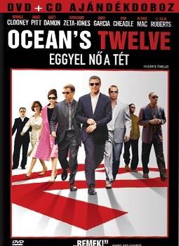 Ocean's Twelve - Eggyel nő a tét (2DVD + filmzene CD) (limitált kiadás)