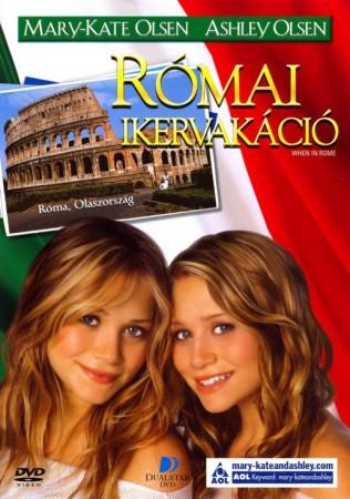 Római ikervakáció (1DVD) (Olsen ikrek)