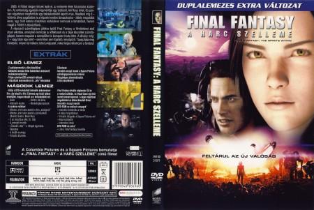 Final Fantasy - A harc szelleme (2DVD) (extra változat)