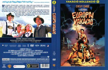 Európai vakáció (1DVD) (Vakáció kollekció 2. rész)