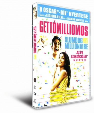 Gettómilliomos (1DVD) (Oscar-díj) (Fórum Home Entertainment Hungary kiadás)