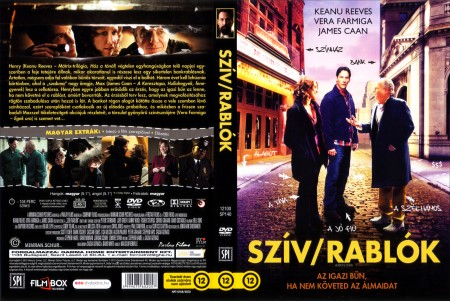 Szív/rablók (2010 - Henry's Crime) (1DVD) (Keanu Reeves)