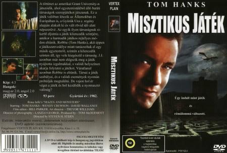 Misztikus játék / Angyalok és sárkányok (1982 - Mazes And Monsters) (1DVD) (Tom Hanks)