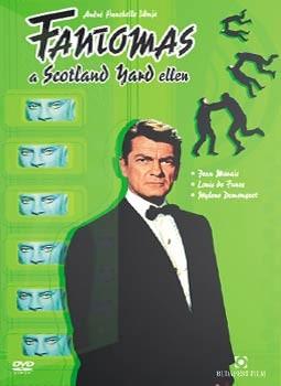 Fantomas 3. - Fantomas a Scotland Yard ellen (1DVD)( használt )