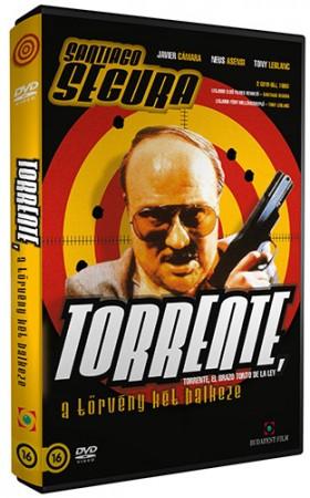 Torrente 1. - A törvény két balkeze (1DVD) ( használt, karcos )