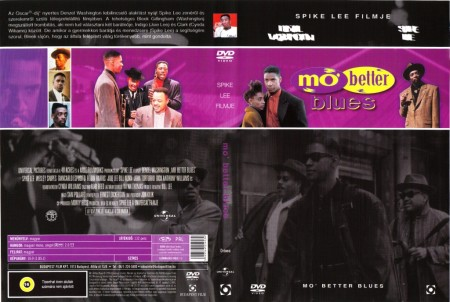 Mo' Better Blues (1DVD) (Denzel Washington - Spike Lee)