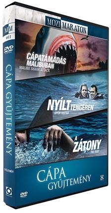 Cápatámadás Malibuban / Nyílt tengeren / A zátony (2010) - Cápa gyűjtemény (3DVD) (Malibu Shark Attack / Open Water / The Reef) (Mozimaraton)