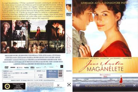 Jane Austen magánélete (1DVD) (Anne Hathaway) (Jane Austen életrajzi film)