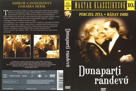 Dunaparti randevú (1936) (1DVD) (Perczel Zita) (régi magyar filmek) (Magyar klasszikusok gyűjtemény 10.)