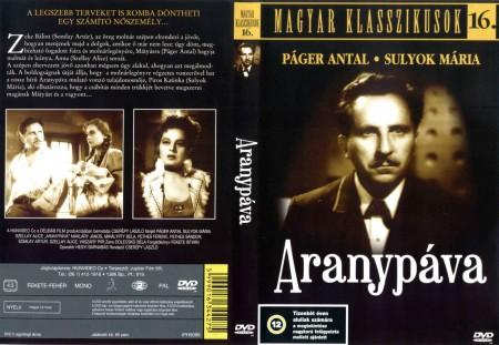 Aranypáva (1943) (1DVD) (Páger Antal) (régi magyar filmek) (Magyar klasszikusok gyűjtemény 16.)