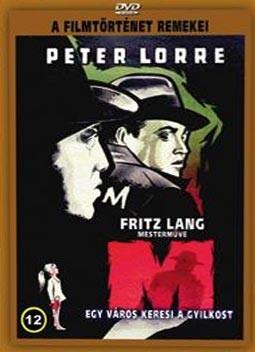 M - Egy város keresi a gyilkost ( Fritz Lang )(1DVD)