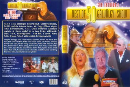 Best Of 50 Gálvölgyi Show (1DVD)