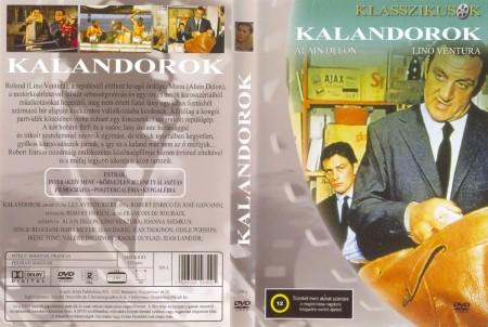 Kalandorok (1967 - Les Aventuriers) (1DVD) (Alain Delon - Lino Ventura)