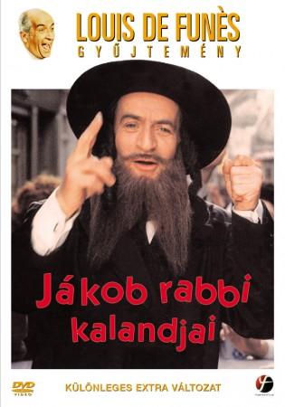 Jákob rabbi kalandjai (1DVD) (Louis De Funés) (különleges extra változat) ( használt, karcos ) tékás