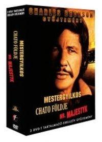 Mestergyilkos / Chato földje / Mr. Majestyk (3DVD box) (Charles Bronson gyűjtemény) (DVD díszkiadás)