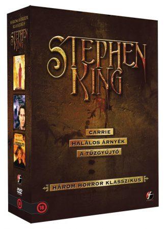 Carrie / Halálos árnyék / A tűzgyújtó (3DVD box) (Stephen King gyűjtemény) (Három horror klasszikus) (szinkron) (DVD díszkiadás) (szép állapotú)