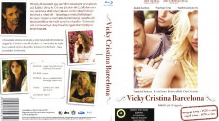 Vicky Cristina Barcelona (1Blu-ray) (Woody Allen) (Oscar-díj) (szinkron)