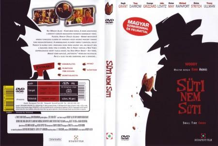 Süti, nem süti (1DVD) (Woody Allen) (szinkron)