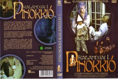 Pinokkió kalandjai 1-6. rész (1971) (2DVD) (Andrea Balestri)