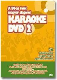 A 80-as évek magyar slágerei DVD 2. (1DVD)