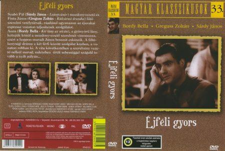 Éjféli gyors (1942) (1DVD) (Greguss Zoltán) (régi magyar filmek) (Magyar klasszikusok gyűjtemény 33.)