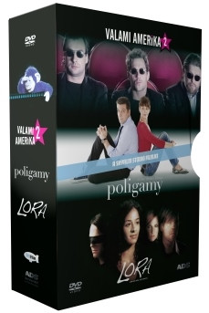 Sky Film díszdoboz (Valami Amerika 2., Lora, Poligamy) (3 DVD)
