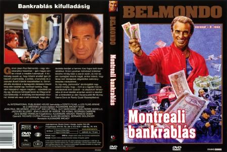 Montreali bankrablás (1DVD) (Jean-Paul Belmondo)