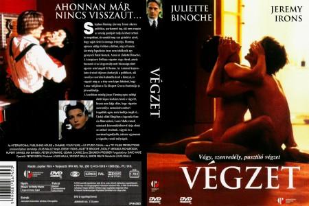 Végzet (1992 - Damage) (1DVD) (Juliette Binoche - Jeremy Irons)