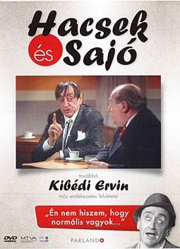 Hacsek és Sajó, továbbá Kibédi Ervin más emlékezetes felvételei (1DVD)
