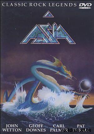 ASIA - CLASSIC ROCK LEGENDS (1DVD) (2001)